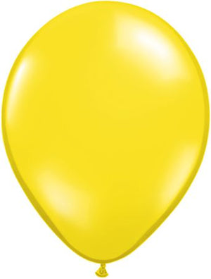"9"" Latex Balloon Bright Yellow"