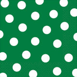Green Dots Napkin