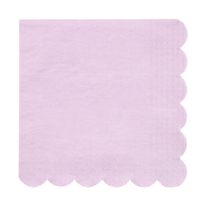 Lilac Simply Solids Napkin