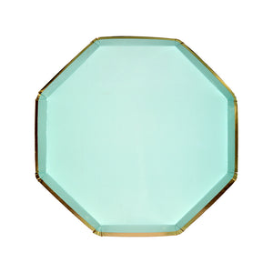 Mint & Gold Small Plate