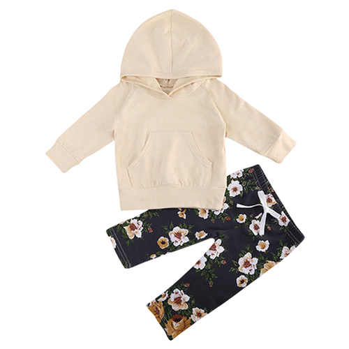 Lila Floral Clothing Set