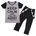Keep Calm and Call My Agent Clothing Set