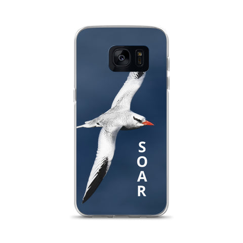 Samsung Case with Soaring Tropicbird