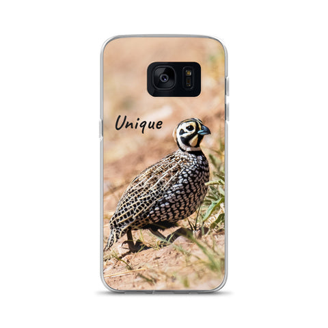 Samsung Phone Case with Montezuma Quail