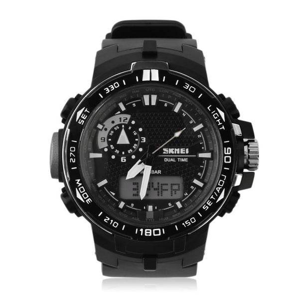 SKMEI Dual Time Digital Display Rugged Sports Watch