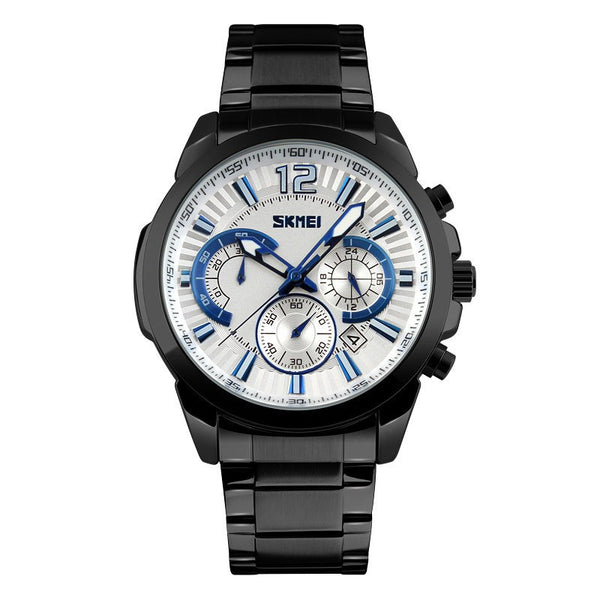 Skmei The Big Blue Chronograph Military Style Sport Watch