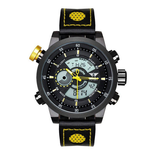 Sport Watch - AMST LED Military Style Digital And Analog Sport Watch