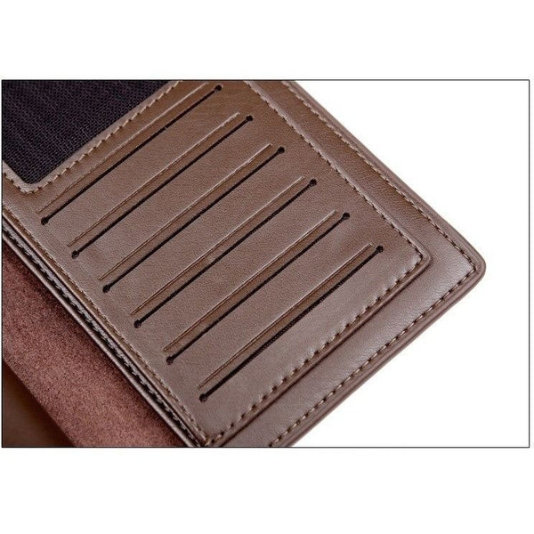 Wallet - Leather Cluch Credit Card Holder Wallet