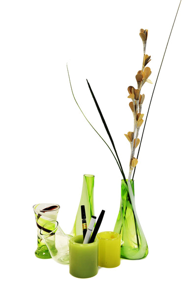 Blown Glass Vases from Myanmar