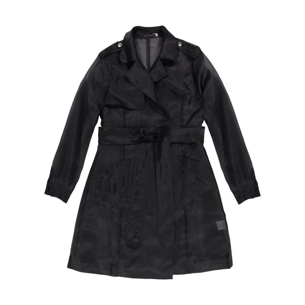 SHEER TRENCH OVERLAY Black - Ruti Horn, Apparel