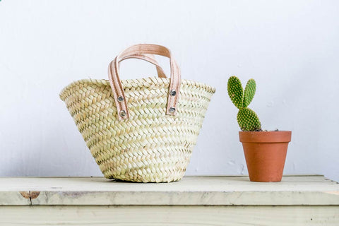 Palm Market Bag - Petit