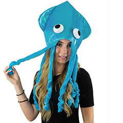 Squid Hat - Funny Fun and Crazy Hats in Many Styles - Funny Party Hats