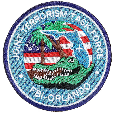 USA Secret Service and FBI Counter Terrorism Patches - Pet Bound Co.