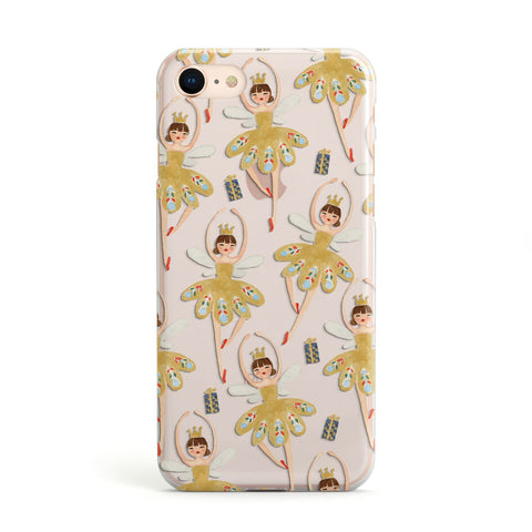Dancing ballerina princess iPhone Case