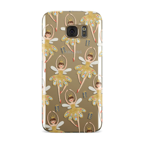 Dancing ballerina princess Samsung Galaxy Case