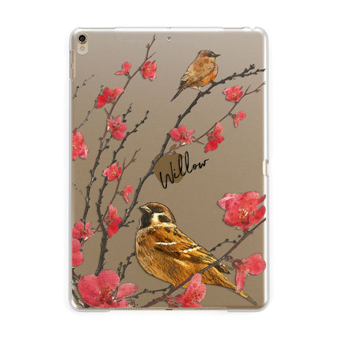 Personalised Birds iPad Case