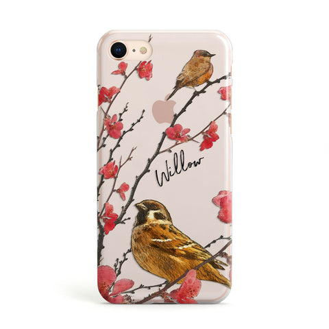 Personalised Birds iPhone Case