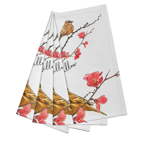 Personalised Birds Napkins