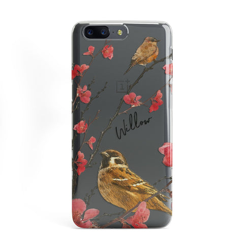 Personalised Birds OnePlus Case
