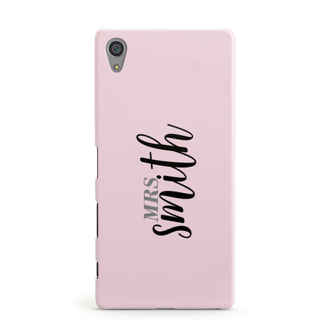 Personalised Bridal Sony Case