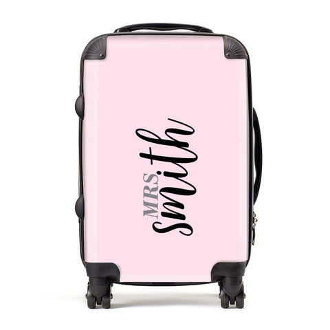 Personalised Bridal Suitcase