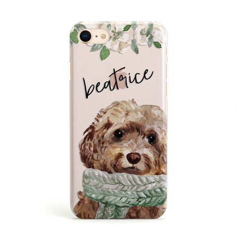 Personalised Cockapoo Dog iPhone Case