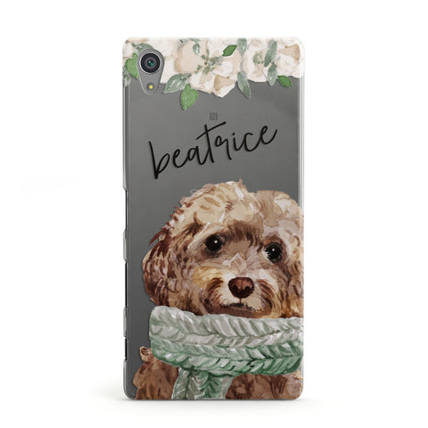 Personalised Cockapoo Dog Sony Case