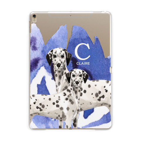 Personalised Dalmatian iPad Case