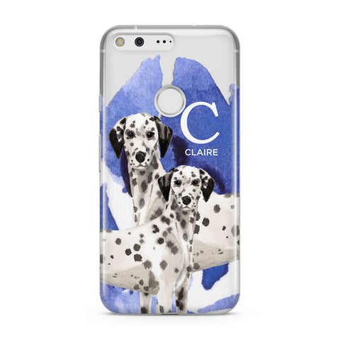 Personalised Dalmatian Google Case