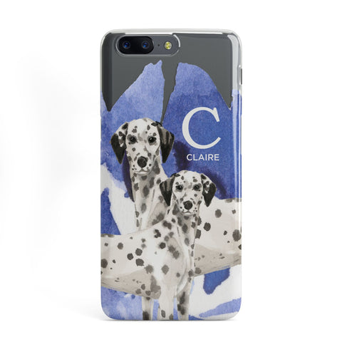 Personalised Dalmatian OnePlus Case