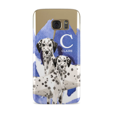 Personalised Dalmatian Samsung Galaxy Case