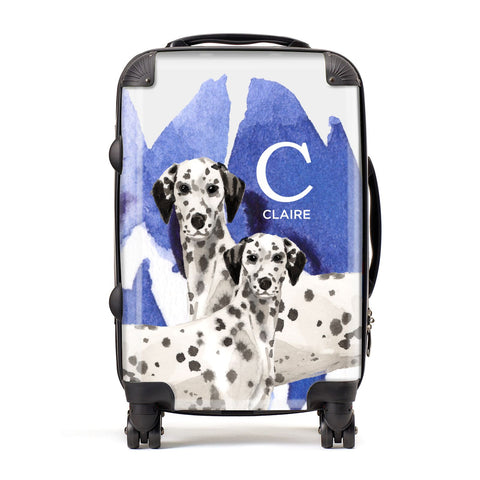 Personalised Dalmatian Suitcase