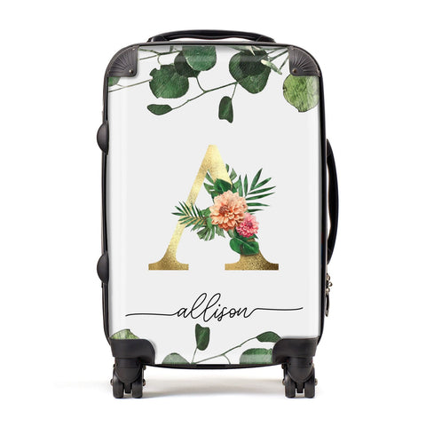Personalised Forest Monogram Suitcase