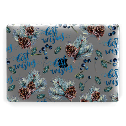 Pine cones & wild berries Macbook Case