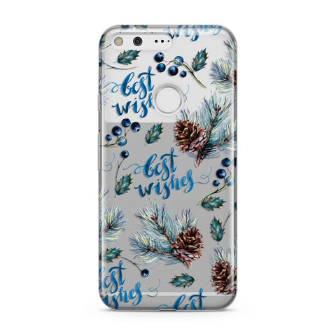 Pine cones & wild berries Google Case
