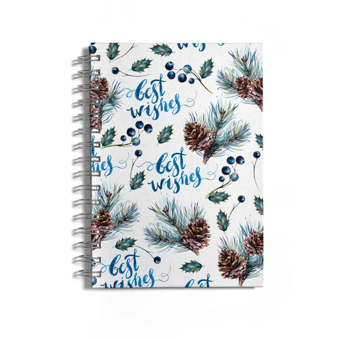 Pine cones & wild berries Notebook
