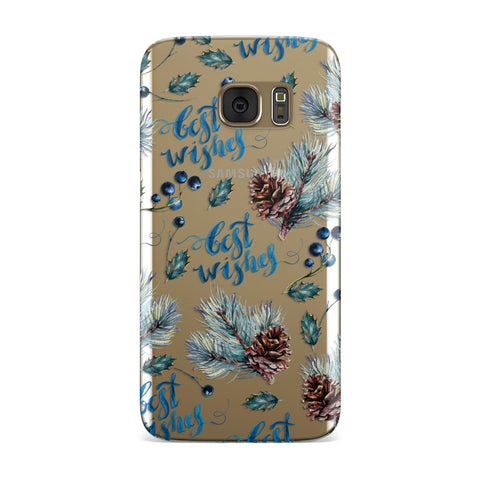 Pine cones & wild berries Samsung Galaxy Case