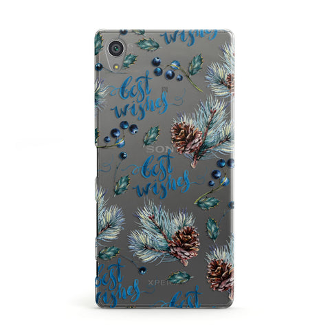 Pine cones & wild berries Sony Case