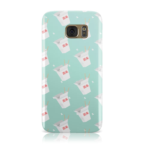 Chinese Takeaway Pattern Samsung Galaxy Case