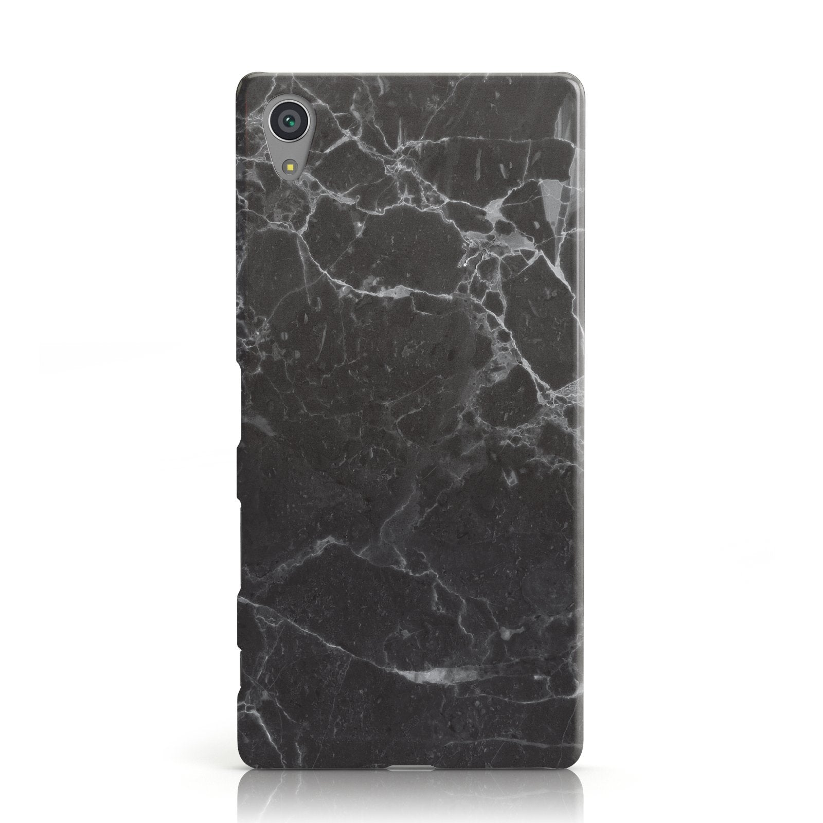 Faux Marble Effect Black Sony Xperia Case