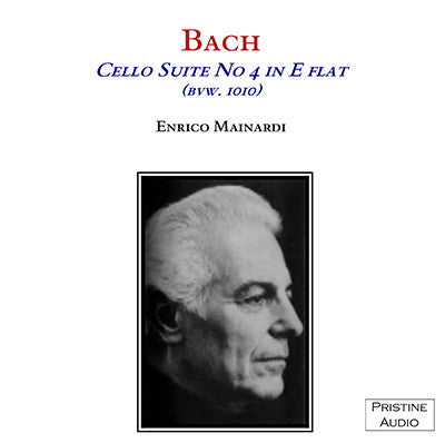MAINARDI Bach: Suite No. 4 in E flat for Cello, BVW 1010 (1950) - PACM004