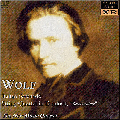 NEW MUSIC QUARTET Wolf: Music for String Quartet (1953) - PACM055