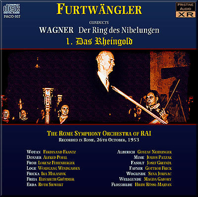 FURTWÄNGLER Wagner Ring Cycle (1953, Rome) - PABX003