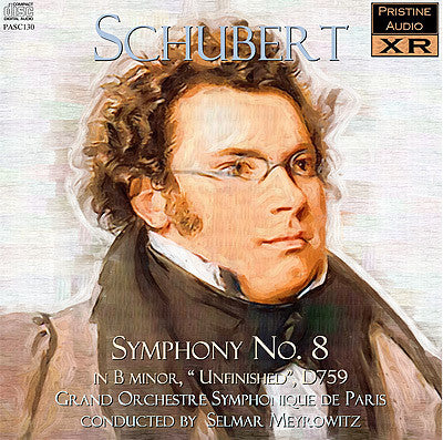 "MEYROWITZ Schubert: Symphony No. 8 ""Unfinished"" (1934) - PASC130"