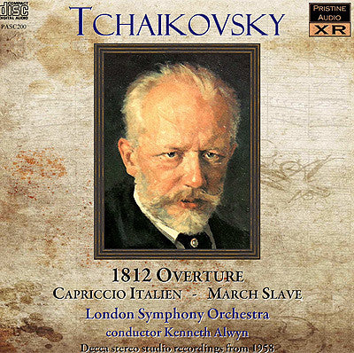 ALWYN conducts Tchaikovsky - first Decca stereo LP (1958) - PASC200
