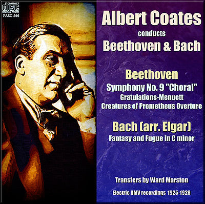 COATES conducts Beethoven and Bach (1925/28) - PASC296