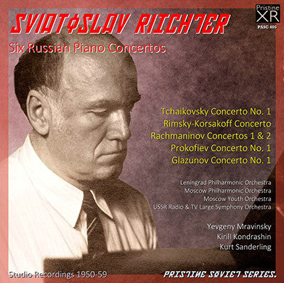 RICHTER Six Russian Piano Concertos (1950-59) - PASC405