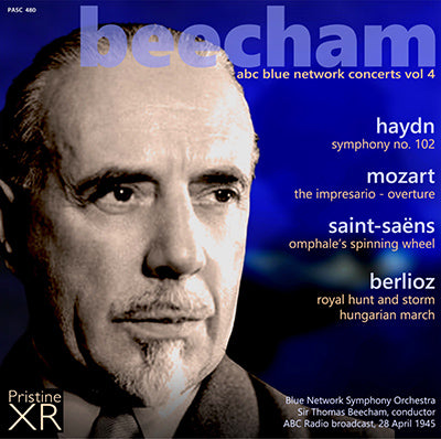 BEECHAM The ABC Blue Network Concerts, Complete (1945) - PABX016