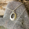 Silver Cornish Limpet Shell Pendant