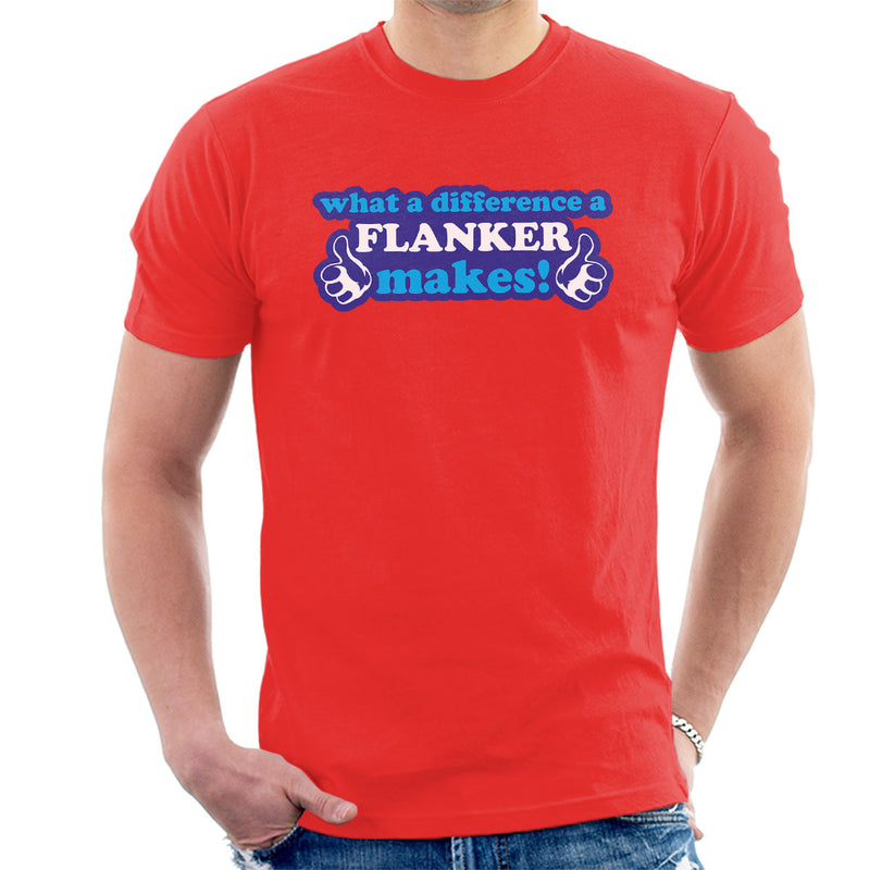What A Difference A Flanker Makes Men's T-Shirt - coto7